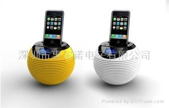 苹果底座音箱 2