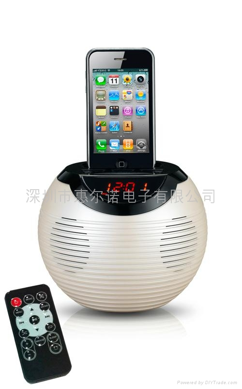 苹果底座音箱 4
