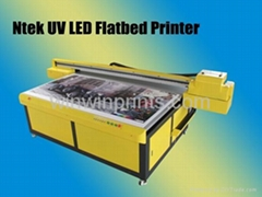 UV Glass Flatbed Printer
