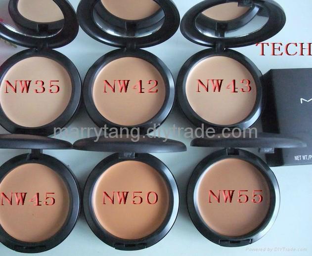 2012 Hotsale MAC cosmetic fashion makeups Studio Tech Fix Face Powder Foundation