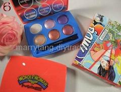 Eyeshadow 6 colors Wholesale Price Mac Makeups Wonder woman Eye Shadow Kits