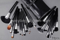 24 pcs set MAC makeup Brushes Wholesale Price Cosmetics Brush Sets