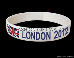 Promotional Gift Silicone bracelet for World Cup