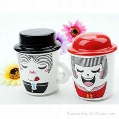 Porcelain Mugs Lover Mugs