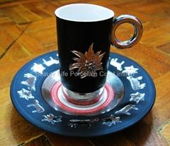 Porcelain Cup and Saucer Tea set