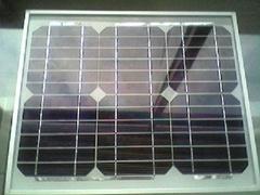 供应10瓦单晶太阳能电池板