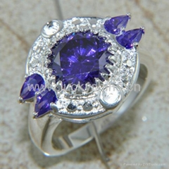 Wholesale cheap items for sale free shipping amethyst ring