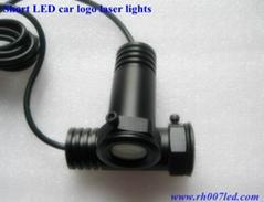 short LED car logo laser lights