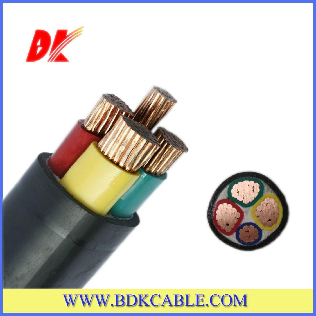 NYY 3+1 cores PVC insulated PVC sheathed Power Cable - 0100002 - BDK ...