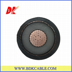 XLPE insulated and PVC sheathed power cable