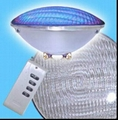 Wholesale 18*3w LED fountain lamp underwater light high waterproof light 12V RGB