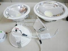 6寸COB20W面光源筒燈
