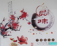 Decorative painting art glass