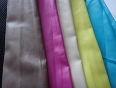 雪纺,色丁,雪纺珠,气流面料,复合丝等纺织女装面料