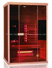 Infrared sauna room new model 05-k7