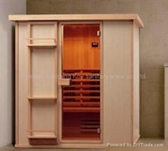 Far infrared sauna room model 06-k7