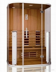 Far infrared sauna room supplier from china