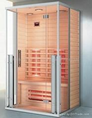Far infrared sauna room from china