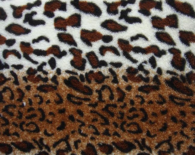Sell Printed Coral Fleece  1