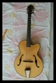 Wholesale fullyhandmade jazz guitar with