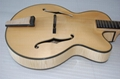 Wholesale fullyhandmade jazz guitar with solid wood. 2