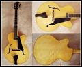 Jazz guitar with high quality solid wood