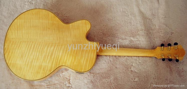 Jazz guitar with high quality solid wood 3
