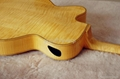 Jazz guitar with high quality solid wood 4