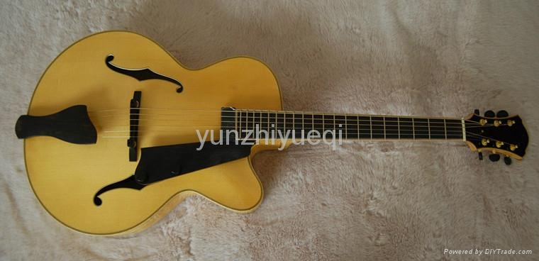 Jazz guitar with high quality solid wood 5