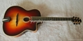 Fully handmade Gyspy guitar with solid wood 2