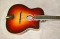 Fully handmade Gyspy guitar with solid wood 3