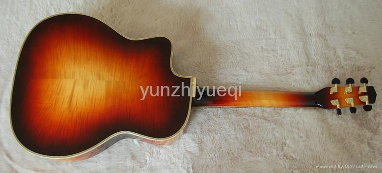 Fully handmade Gyspy guitar with solid wood 4
