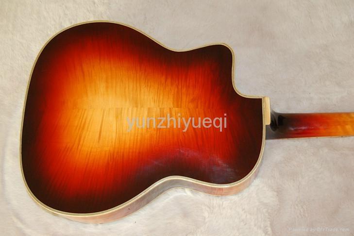 Fully handmade Gyspy guitar with solid wood 5