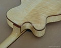 Fully handmade jazz guitar with solid wood 2