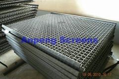 Crimped Wire Mesh( 65 Mn)-Vibrating Screen Mesh