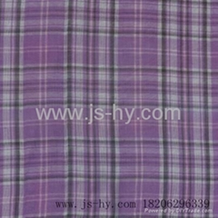 cotton yarn dyed double face clothing fabric