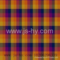 cotton yarn dyed clothing flannel fabric