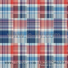 cotton yarn dyed double face fabric