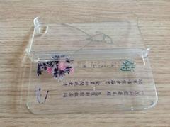 透明印花苹果手机外壳