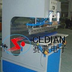 PVC夾網布熔接機