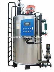 Vertical Fire Water Tube Boiler (LNS1.4-0.7/95/60-Y(Q))