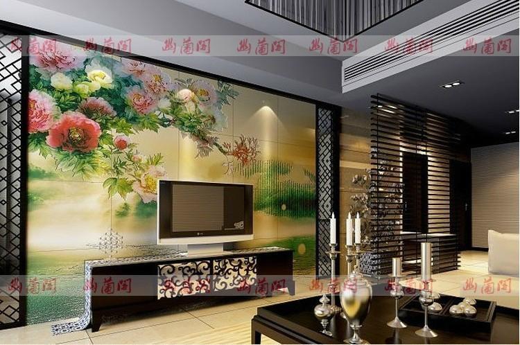 唐梦沙发背景墙 1