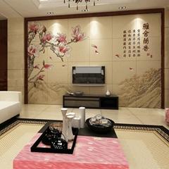 客厅瓷砖背景墙