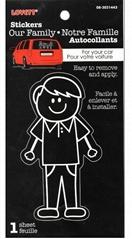 Funny Family Car Sticker