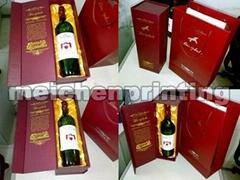 Fine quality paper box fofr wine
