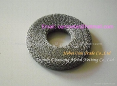 knitted wire mesh muffler