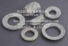 stainless steel knitted wire mesh shielding gasket