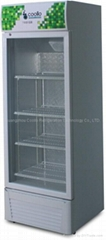 Upright Display Chiller Cooler Refrigerator Display Showcase 1 Door LC-200F
