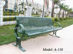 户外公园休闲椅 公园椅出口 室外休憩座椅