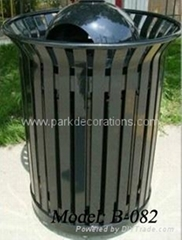 outdoor litter bins/stainless steel trash can